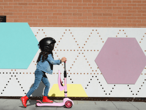 We love all the great features of the FLUXX DuoMini 2-in-1 Scooter for Kids -- super easy to scoot or sit, learn to balance, and adjustable so it grows with kids...