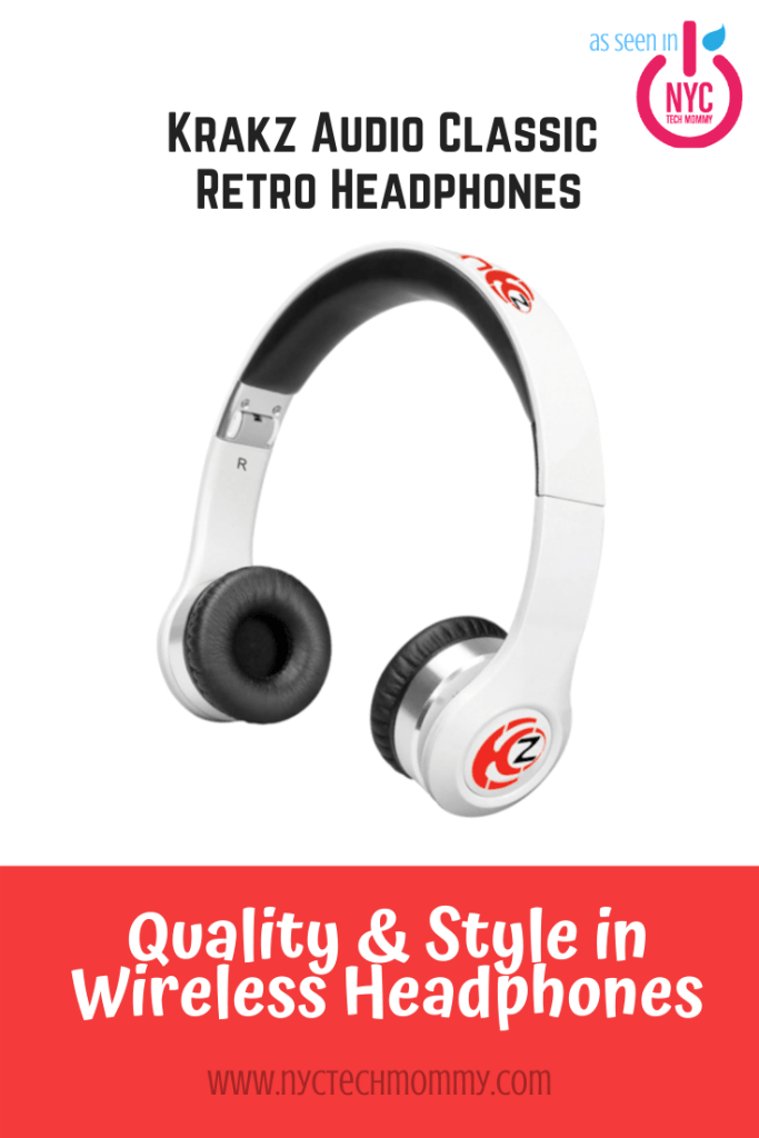 Wireless Headphones Review - The Krankz Audio Classic Retro Headphones deliver quality and style + a whole set of features that make these a must-have for headphones...