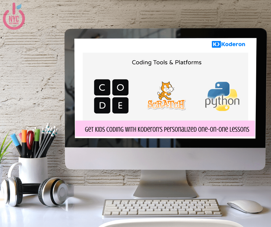 Kids Learn Coding - Personalized one-on-one coding lessons with Koderon are a great way for kids to learn coding at their own pace.