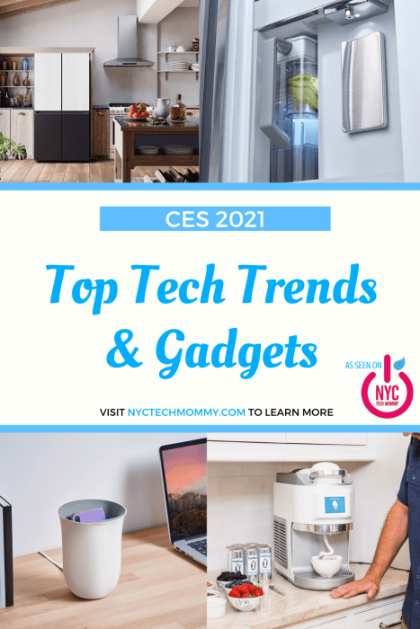 Check out these top tech trends and gadgets I spotted at #CES2021 -- From pandemic-related health and wellness gear to robot vacuum cleaners and electric vehicles, CES didn't disappoint!