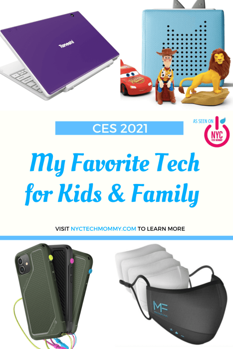 Check out my favorite tech for kids and family this year -- make family life easier, and even more fun! #techforkids #techforfamily #gadgets #CES2021