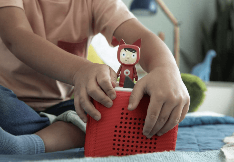 My favorite tech for Kids and Family - Toniebox and tonies make it fun and screen-free to listen to stories and music