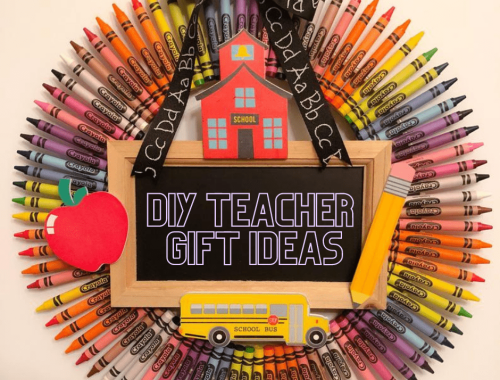 5 DIY Teacher Gift Ideas - unique and personalized gift ideas the teacher will love!