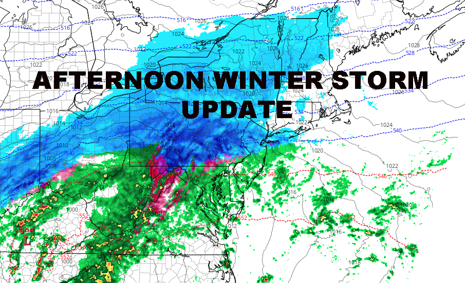 NYC WEEKEND WINTER STORM UPDATE