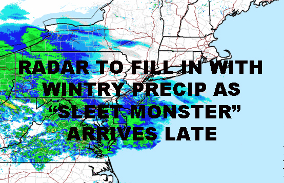 NYC WINTRY PRECIP SLOW START COMPLICATED FORECAST REMAINS