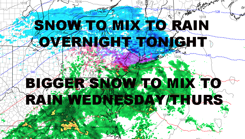 NYC WINTRY MIX LIKELY OVERNIGHT TONIGHT