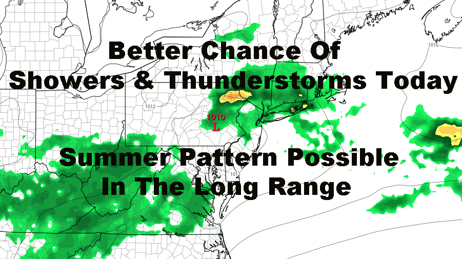 Wet Humid Cloudy NYC Today Warm Outlook