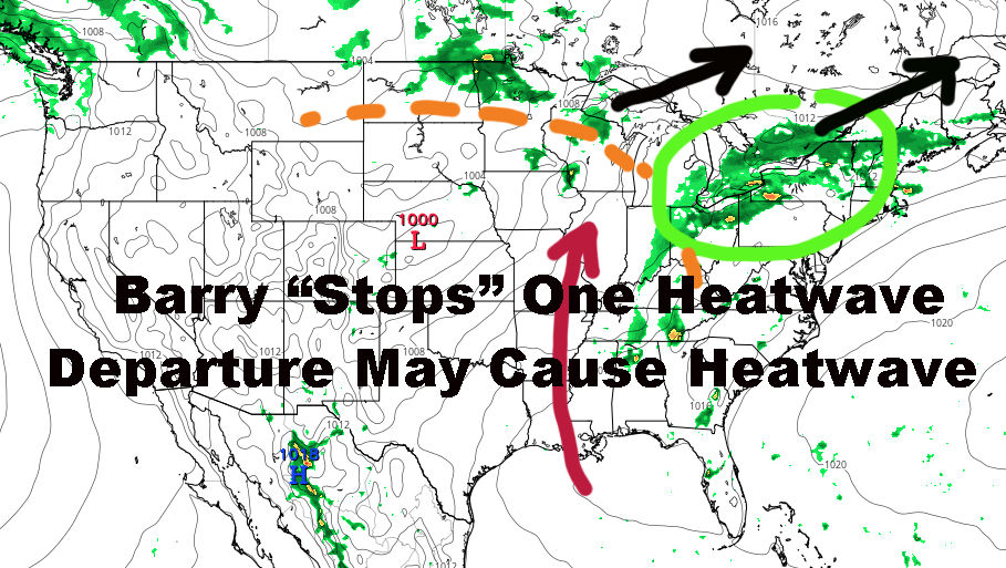 Barry Stops One NYC Heatwave But May Cause Another