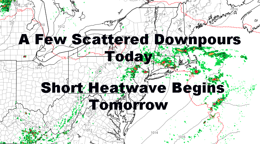 NYC Short Heatwave Begins Tomorrow