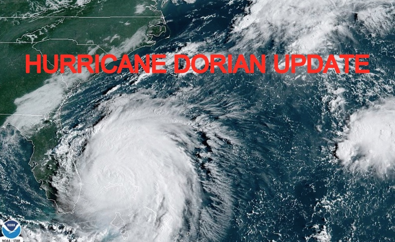 Hurricane Dorian Update Storm Surge Discussion