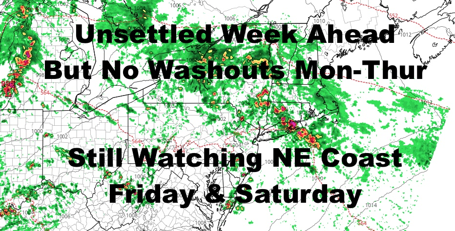 NYC Few Bright Spots During This Week's Unsettled Pattern