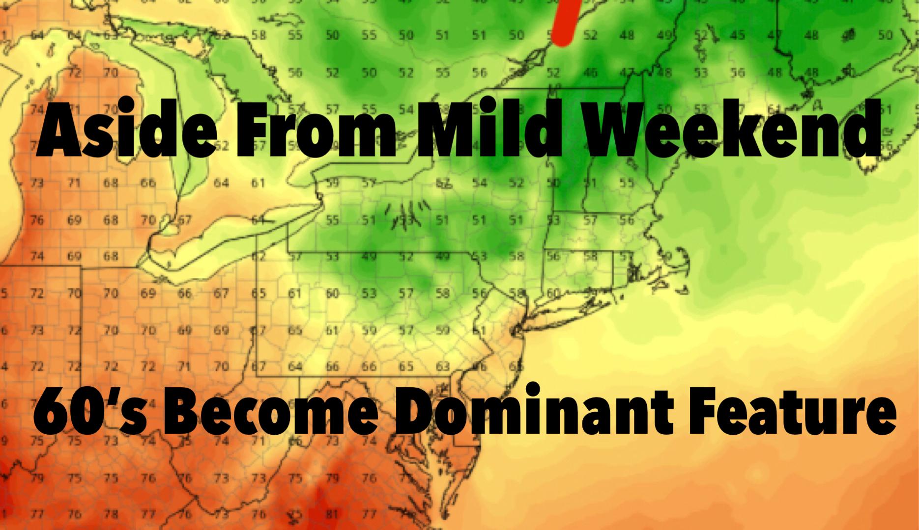 NYC Seasonal Temperatures Dominate Forecast