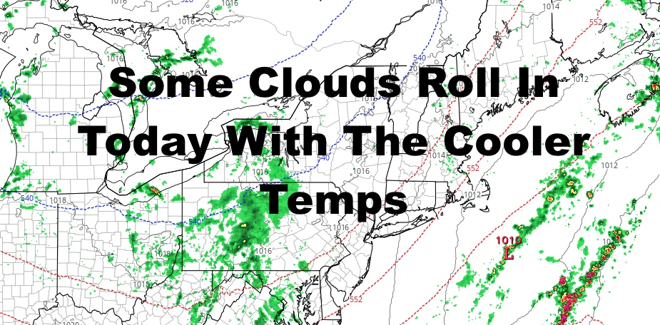 NYC Cloudier Cooler Day Today Halloween Forecast Holds