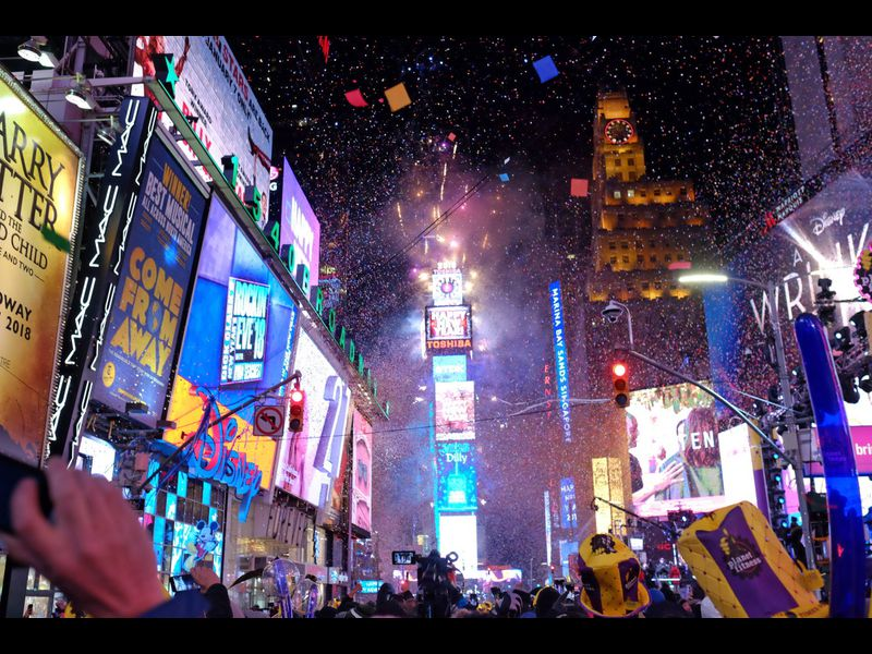 New Year s Eve 2018 in New York City   NY Daily News New Year s Eve 2018 in New York City
