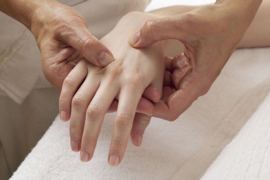 Contrary to popular belief, reflexology is not just done on the feet.