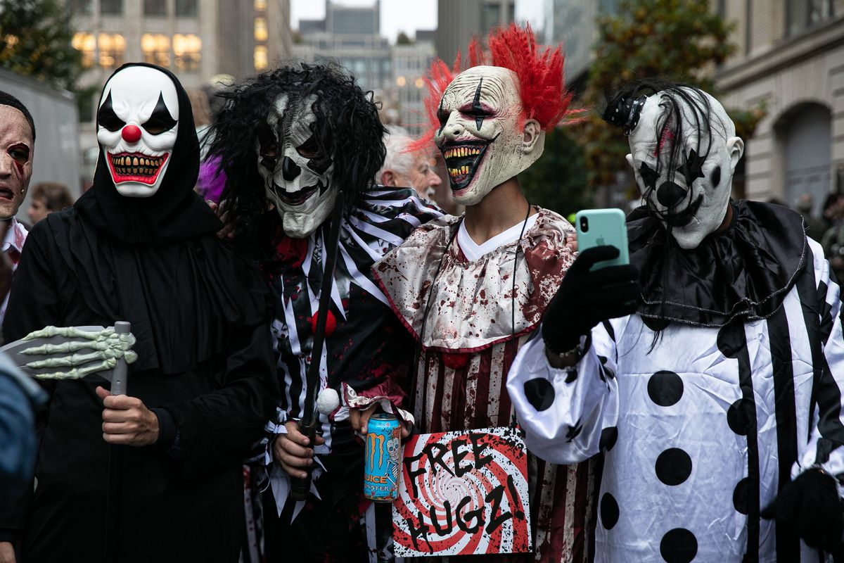 Halloween time in new york is a time of year not like any other. New York City's 2019 Village Halloween Parade - New York Daily News