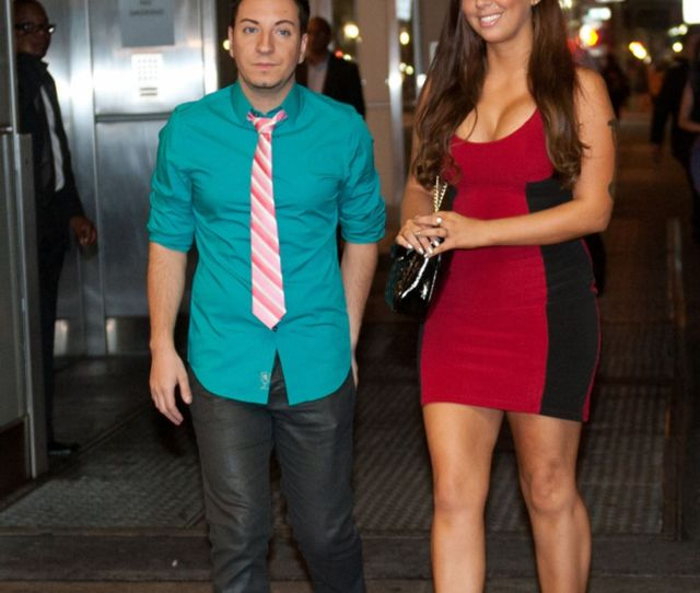 Leathers And Friend Adam Barta Attempt To Crash Anthony Weiners Party