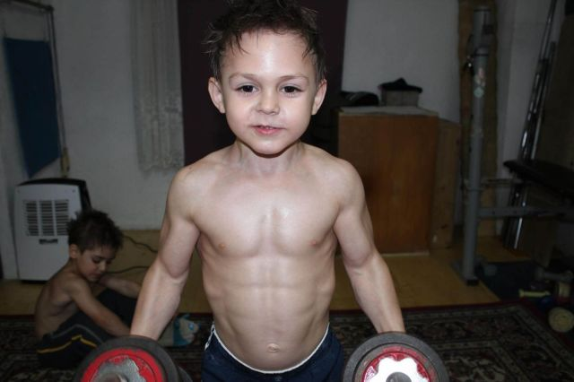 strongest child in the world