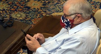 Michigan sen.: Sorry for face mask resembling Confederate flag ...