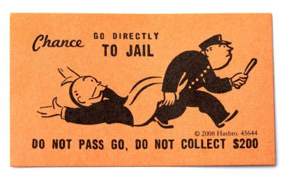 Image result for monopoly jail