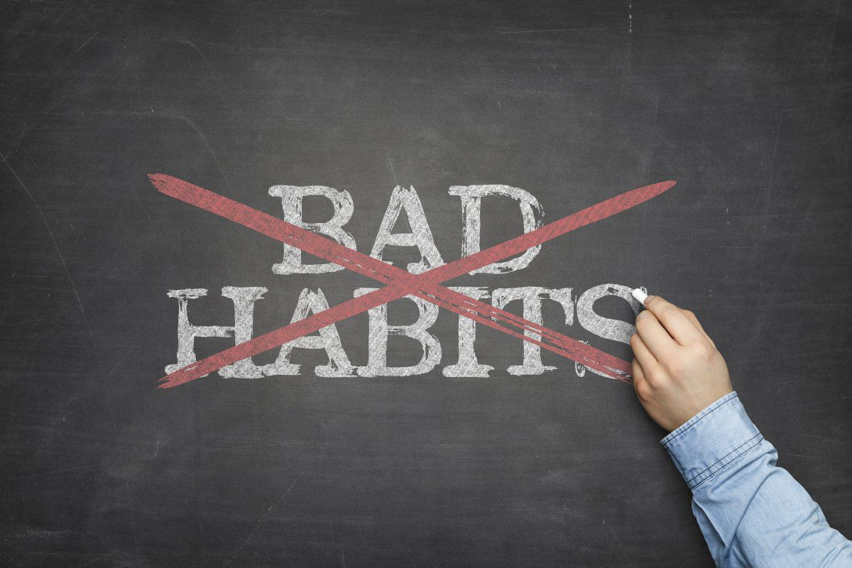 How To Break The 5 Bad Habits That Are Holding You Back In