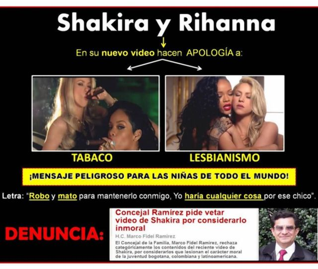 Colombias Marco Fidel Ramirez Has Started A Petition To Have The Countrys National Television Authority Ban