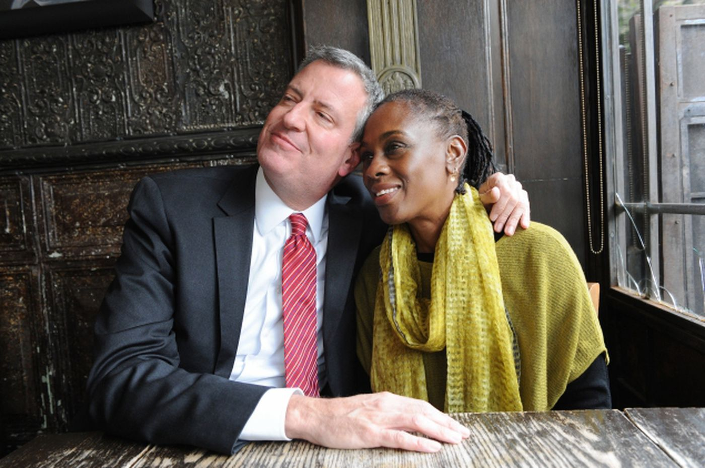 De Blasio Pictures Mccray Chirlane Wife Bill And