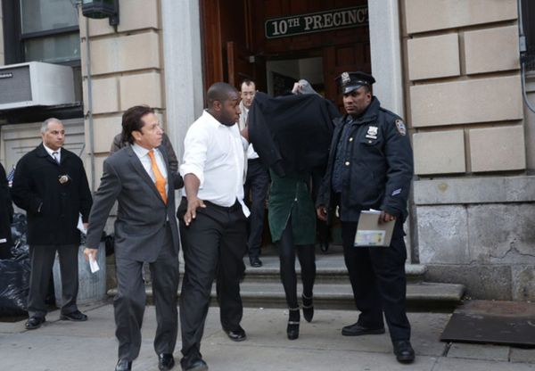 Lindsay Lohan arrested after allegedly punching Tiffany ...