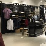 Innredning av butikklokale for Scotch & Soda på Aker Brygge