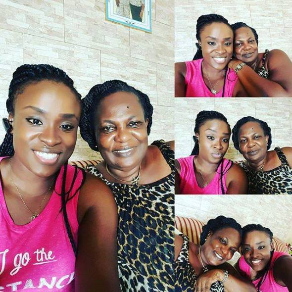 Image result for Jessica Opare Saforo and her late mother images