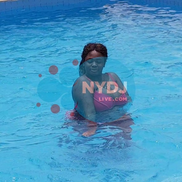 Watch Actress Tracey Boakye Flaunts Her Floating B00bs In