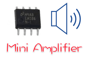 Mini amplifier LM386