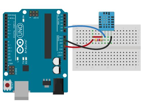 Arduino + sensor DHT11
