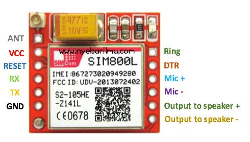 MODUL GSM SIM800L