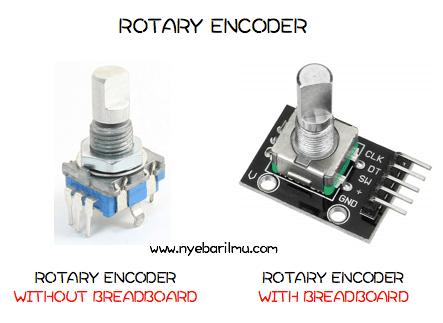Tipe - tipe Rotary Encoder