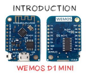 Introduction wemos d1 mini