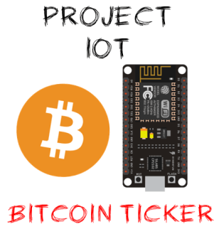 project iot bitcoin ticker