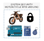 System security or alarm security RFID Arduino for motorcycle