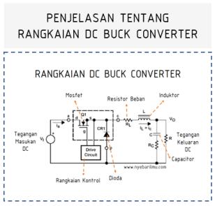 Rangkaian CHOOPER DC Buck Converter