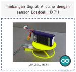 Timbangan digital loadcell hx711- nyebarilmu.com
