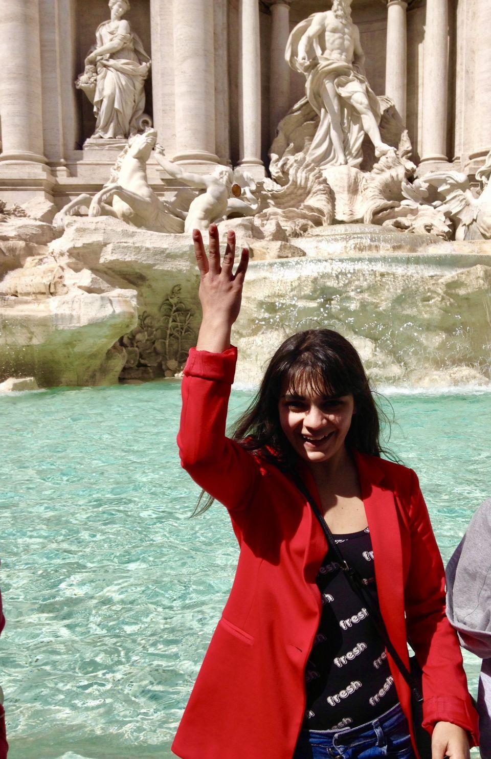 fontana, itinerario