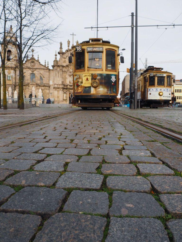 Oporto, tranvía