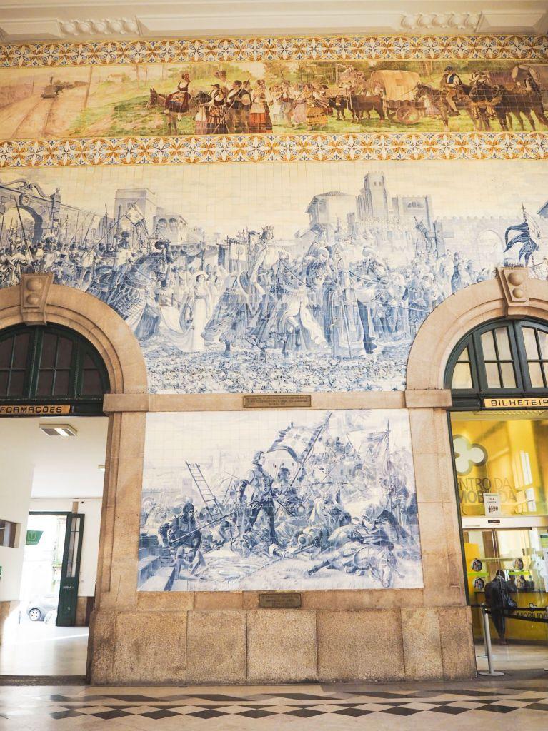 Oporto, estación de tren