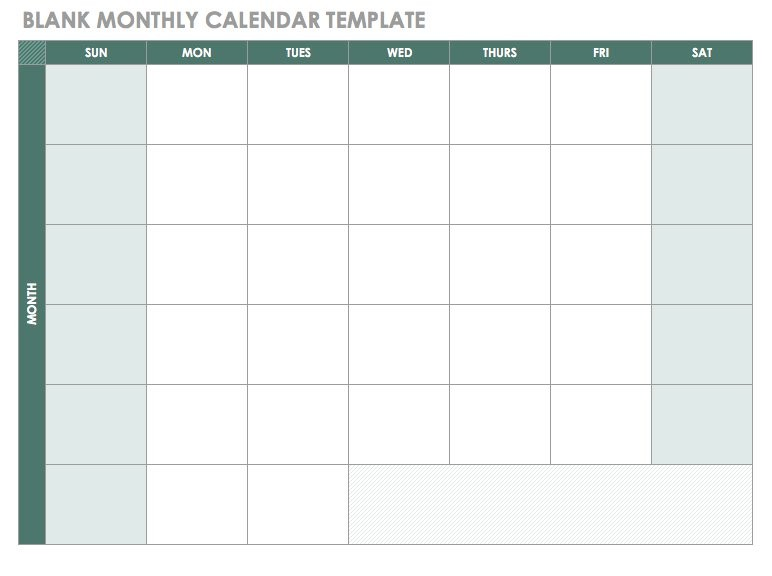 This printable document is available as editable word / pdf / jpg template. monthly work schedule template 2018 Free Blank Calendar ...