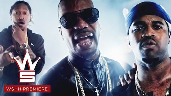 Juicy J Ft Future And ASAP Ferg – Ice Audio