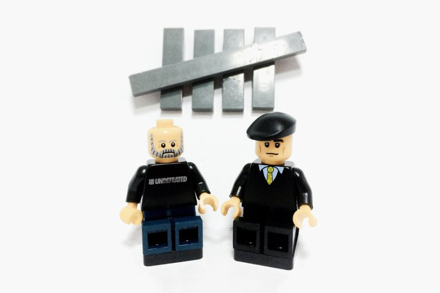 Streetwear Figures As Lego Figurines