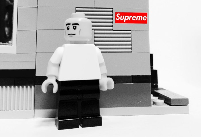 Streetwear Figures As Lego Figurines