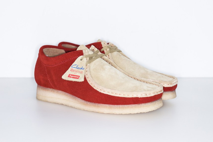 Supreme And Clarks Wallabee Low Spring/Summer 2015