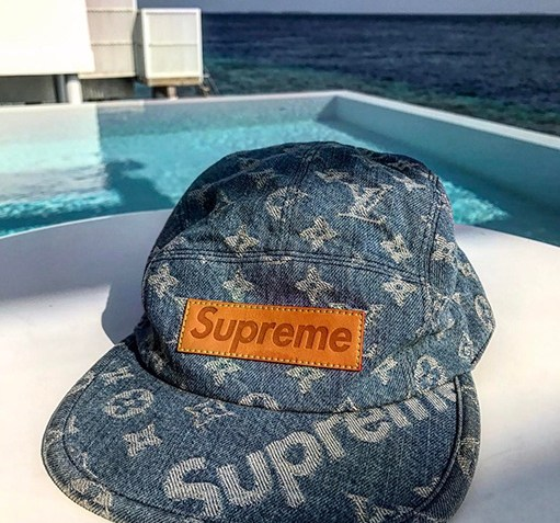 Louis Vuitton's Kim Jones Gives Us A Closer Look at the Supreme x LV Cap