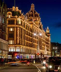 Image de la galerie marchande Harrods à Londres